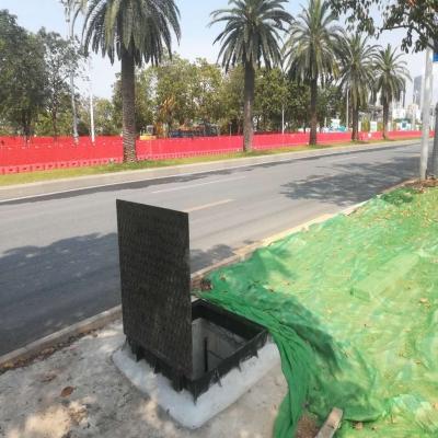 深圳市南山区综合管廊-液压井盖